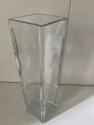 Jarrón de cristal IKEA
