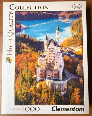Puzzle castillo de Neuschwanstein - 1000 piezas