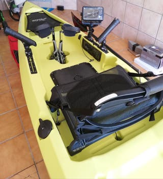 kayak pedales Hobbie mirage compass