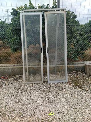 puertas balconeras aluminio