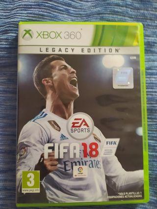 FIFA 18 Legacy Xbox 360