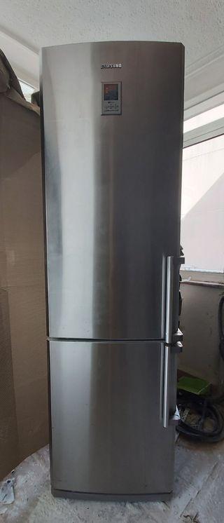 Nevera Samsung aluminio