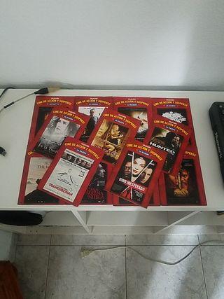Pack 13 DVDs Cine de Acción y Suspense La Razon