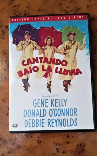DVD CANTANDO BAJO LA LLUVIA de Gene Kelly