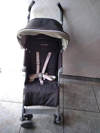 silla de paseo maclaren quest , con accesorios .