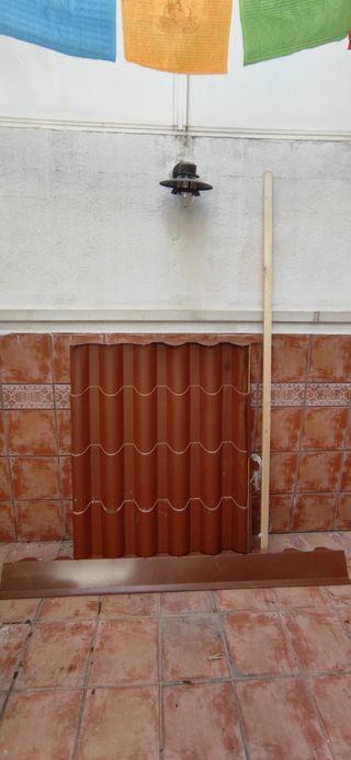 Tejado Panel sándwich 140x100cm 80mm