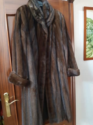 Abrigo piel visón