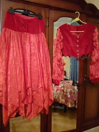 traje flamenca/hechicera