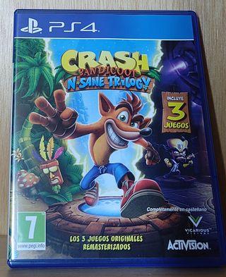 Crash Bandicoot N'Sane trilogy PS4