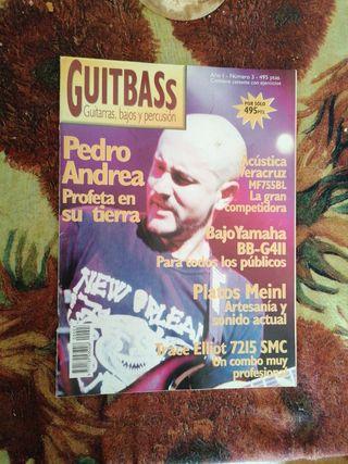 revistas sobre guitarras.