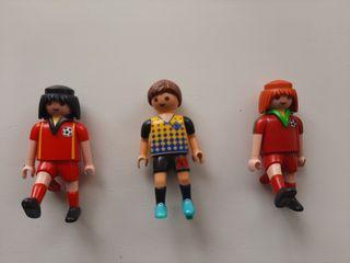 Playmobil lote futbolistas.