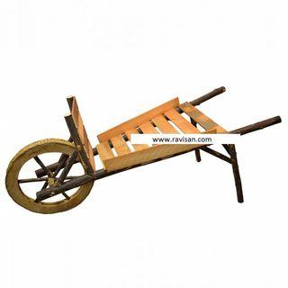 Carretilla madera r6899
