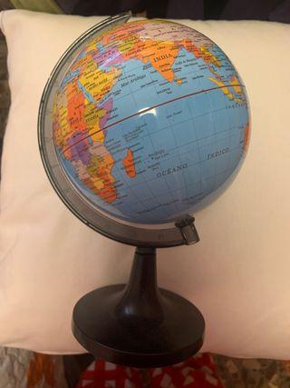 Bola del mundo pequeña