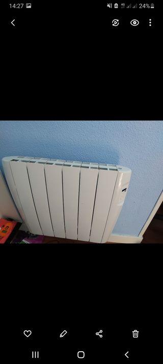 Radiador eléctrico nuevo calor azul