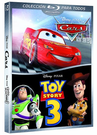 Película Cars + Toy Story 3 Bluray Castellano