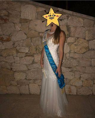 vestido Pubilla o novia