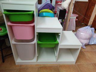 mueble almacenaje ( tengo dos cajas más)