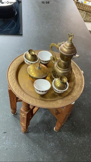 Juego de té marruecos TETERA