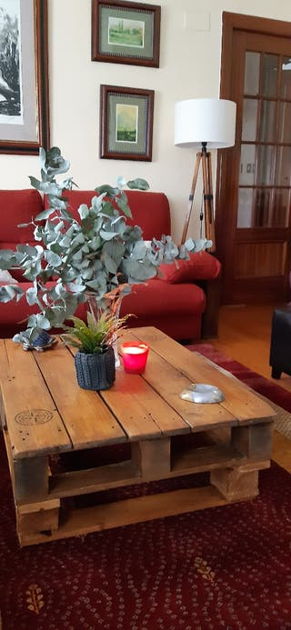 mesa salón y jardin