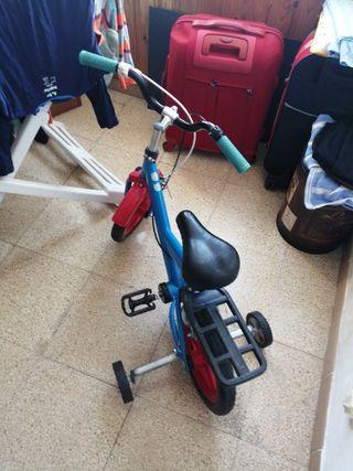 bicicleta para los niños