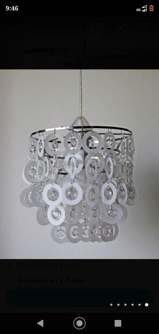Lámpara de diseño pedrería