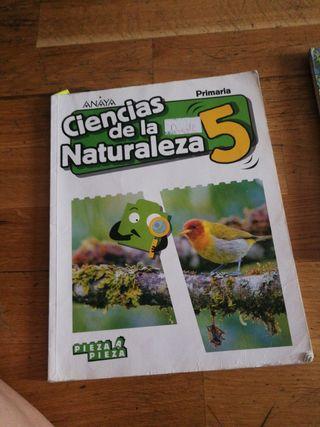 libro ciencias naturales 5 primaria