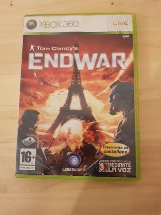 Juego XBOX 360 Tom Clancy's Endwar