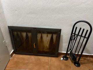Puertas de cristal para chimenea