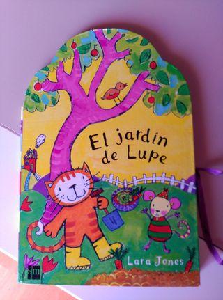 """Libro """"El jardín de Lupe"""""""