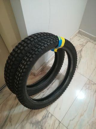 Neumáticos trial