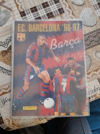 Álbum de cromos del Barça