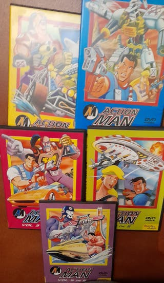5 dvd de Accion man