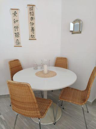 SILLA EN MIMBRE (CUATRO) LINUS IKEA