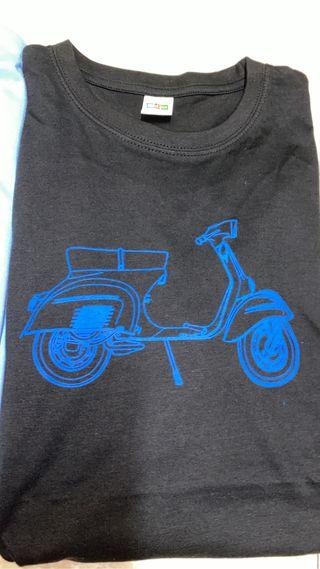 Camiseta vespa primavera.