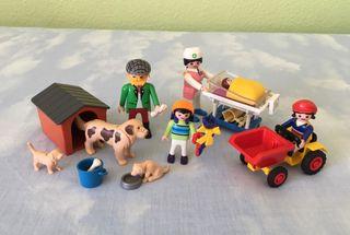 Playmobil 3979, 3005, 4600 y 4618