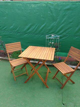Mesa y sillas jardin/ terazza
