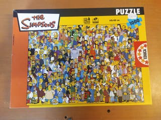 Puzzle 1000 piezas the simpson