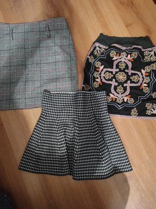 Lote faldas nuevas