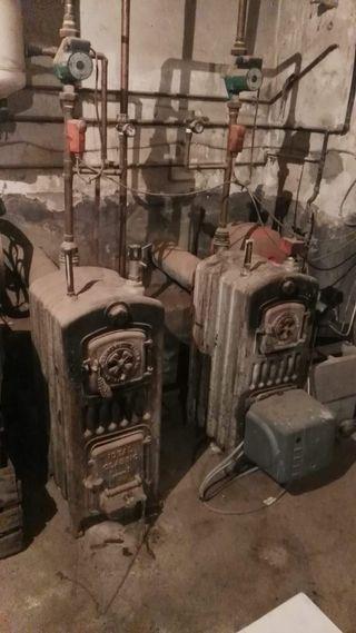 Estufas de hierro colado