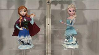 Figuras FROZEN Elsa yAna.Colección Disney Showcase