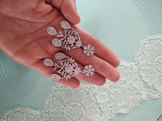 Pendientes de novia , Elizabeth Taylor pendientes