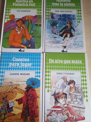 Arlequín. Colección libros juvenil