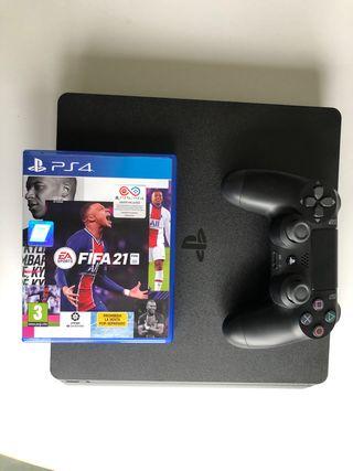 PS4 500MB + fifa21 + mando