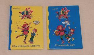 Libros Kika Superbruja y Dani: 1 y 2
