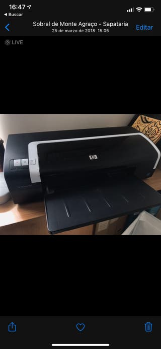 Impresora HP Deskjet K7100