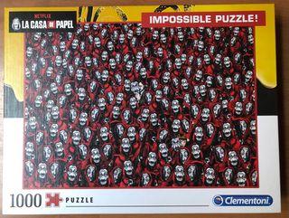 Impossible puzzle! La casa de papel - 1000 piezas