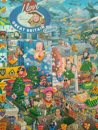 Puzzle 1.000 piezas.
