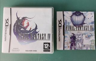 Caja y Manual original F Fantasy IV Nintendo DS