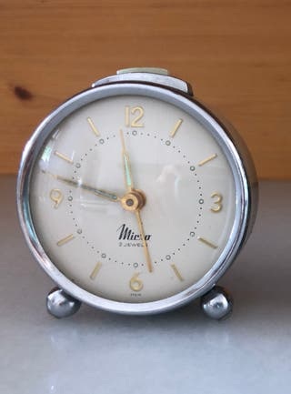Reloj despertador vintage MIERA