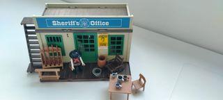 ofinica del sheriff playmobil